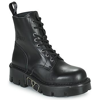 Cipők Csizmák New Rock M-MILI084N-S3 Fekete