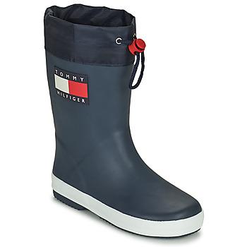 Cipők Gyerek Gumicsizmák Tommy Hilfiger T3X6-30766-0047800 Tengerész