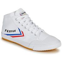 Cipők Férfi Magas szárú edzőcipők Feiyue FE LO 1920 MID Fehér / Kék / Piros