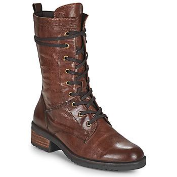 Cipők Női Csizmák Caprice 25202-351 Konyak