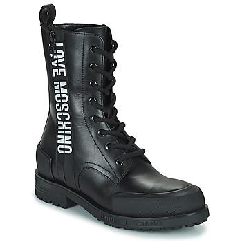 Cipők Női Csizmák Love Moschino JA24184G1D Fekete