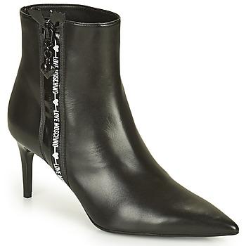 Cipők Női Bokacsizmák Love Moschino JA21107G1D Fekete