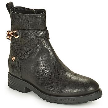 Cipők Női Csizmák Love Moschino JA21084G1D Fekete