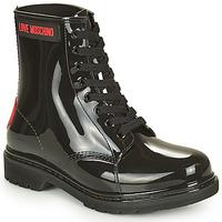 Cipők Női Csizmák Love Moschino JA24193G1D Fekete