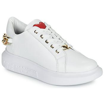 Cipők Női Rövid szárú edzőcipők Love Moschino JA15144G1D Fehér