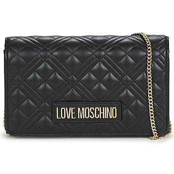 Táskák Női Válltáskák Love Moschino JC4079 Fekete