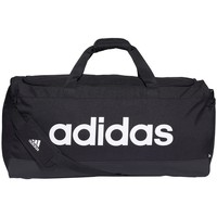 Táskák Sporttáskák adidas Originals Linear Duffel L Fekete