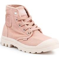 Cipők Női Magas szárú edzőcipők Palladium Manufacture US Pampa HI Rózsaszín