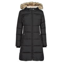 Ruhák Női Steppelt kabátok Lauren Ralph Lauren FX LT HD DW-JACKET Fekete