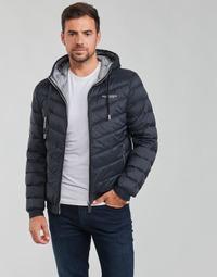 Ruhák Férfi Steppelt kabátok Armani Exchange 8NZB53 Tengerész