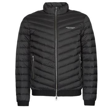Ruhák Férfi Steppelt kabátok Armani Exchange 8NZB52 Fekete