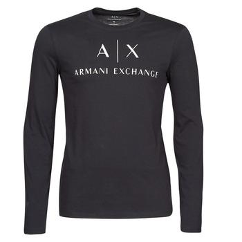 Ruhák Férfi Hosszú ujjú pólók Armani Exchange 8NZTCH Kék