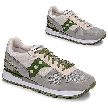 Cipők Férfi Rövid szárú edzőcipők Saucony SHADOW ORIGINAL Szürke / Zöld