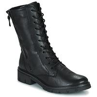 Cipők Női Csizmák Ara DOVER Fekete