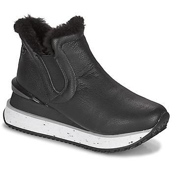 Cipők Női Magas szárú edzőcipők Gioseppo FEDJE Fekete
