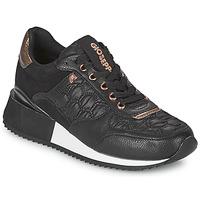 Cipők Női Rövid szárú edzőcipők Gioseppo ENGERDAL Fekete