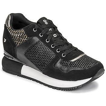 Cipők Női Rövid szárú edzőcipők Gioseppo LILESAND Fekete