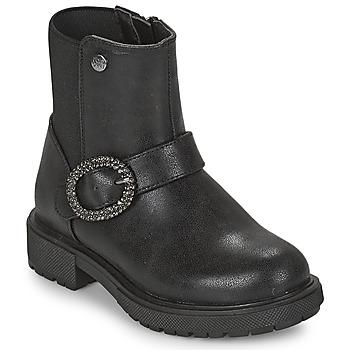 Cipők Lány Csizmák Gioseppo LONTZEN Fekete