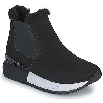 Cipők Lány Magas szárú edzőcipők Gioseppo NORDEN Fekete