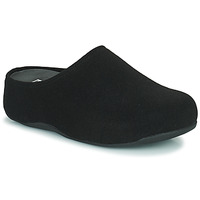 Cipők Női Klumpák FitFlop SHUV FELT Fekete