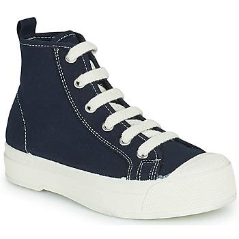 Cipők Gyerek Magas szárú edzőcipők Bensimon STELLA B79 ENFANT Kék