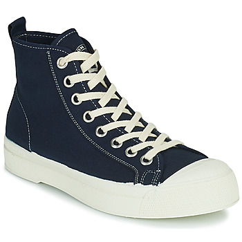 Cipők Női Magas szárú edzőcipők Bensimon STELLA B79 Kék