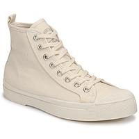 Cipők Női Magas szárú edzőcipők Bensimon STELLA B79 Bézs