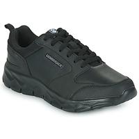 Cipők Férfi Rövid szárú edzőcipők Lumberjack RAM SNEAKER Fekete