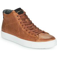 Cipők Férfi Magas szárú edzőcipők Blackstone VG06-CUOIO Barna