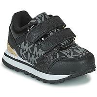 Cipők Lány Rövid szárú edzőcipők MICHAEL Michael Kors BILLIE JOGGER H&L Fekete  / Arany