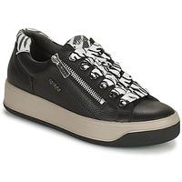 Cipők Női Rövid szárú edzőcipők IgI&CO DONNA AVA Fekete