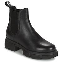 Cipők Női Csizmák IgI&CO DONNA VELAR Fekete