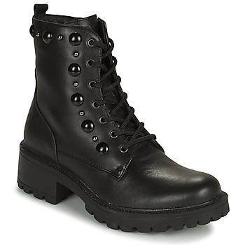 Cipők Női Csizmák IgI&CO DONNA GIANNA Fekete