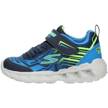 Cipők Fiú Rövid szárú edzőcipők Skechers 401500N Blue