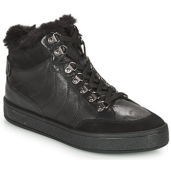 Cipők Női Csizmák Geox LEELU Fekete