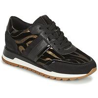 Cipők Női Rövid szárú edzőcipők Geox TABELYA Fekete