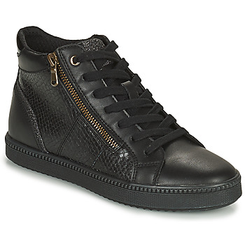 Cipők Női Magas szárú edzőcipők Geox BLOMIEE Fekete