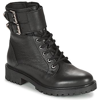 Cipők Női Bokacsizmák Geox HOARA Fekete