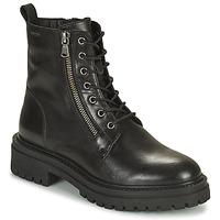 Cipők Női Bokacsizmák Geox IRIDEA Fekete