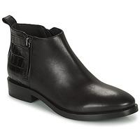 Cipők Női Bokacsizmák Geox BROGUE Fekete