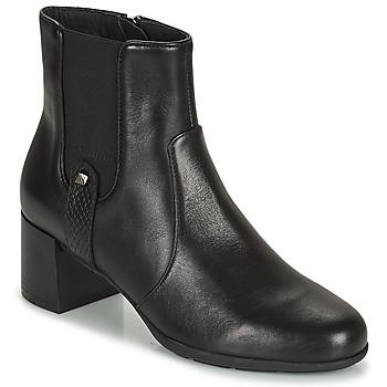 Cipők Női Bokacsizmák Geox ANNYA Fekete