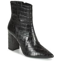 Cipők Női Bokacsizmák Geox BIGLIANA Fekete