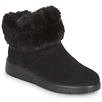 Cipők Női Csizmák Geox ARLARA Fekete