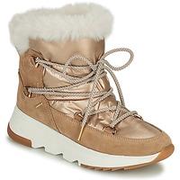 Cipők Női Hótaposók Geox FALENA Bézs / Arany