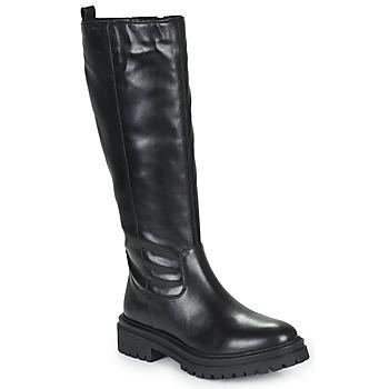 Cipők Női Városi csizmák Geox IRIDEA Fekete