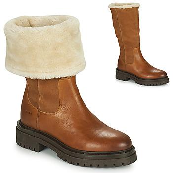 Cipők Női Csizmák Geox IRIDEA Barna