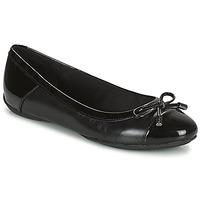 Cipők Női Balerina cipők  Geox CHARLENE Fekete
