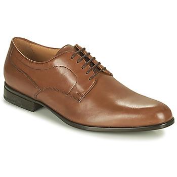Cipők Férfi Oxford cipők Geox IACOPO Barna