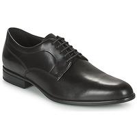 Cipők Férfi Oxford cipők Geox IACOPO Fekete