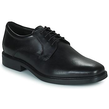 Cipők Férfi Oxford cipők Geox BRANDOLF Fekete